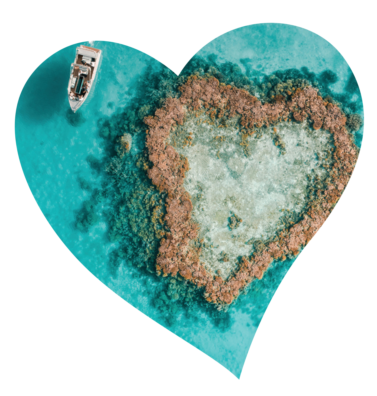 Variety Show Us Ya Heart Challenge heart island