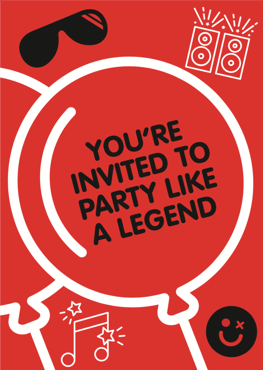Party Invite (Red)