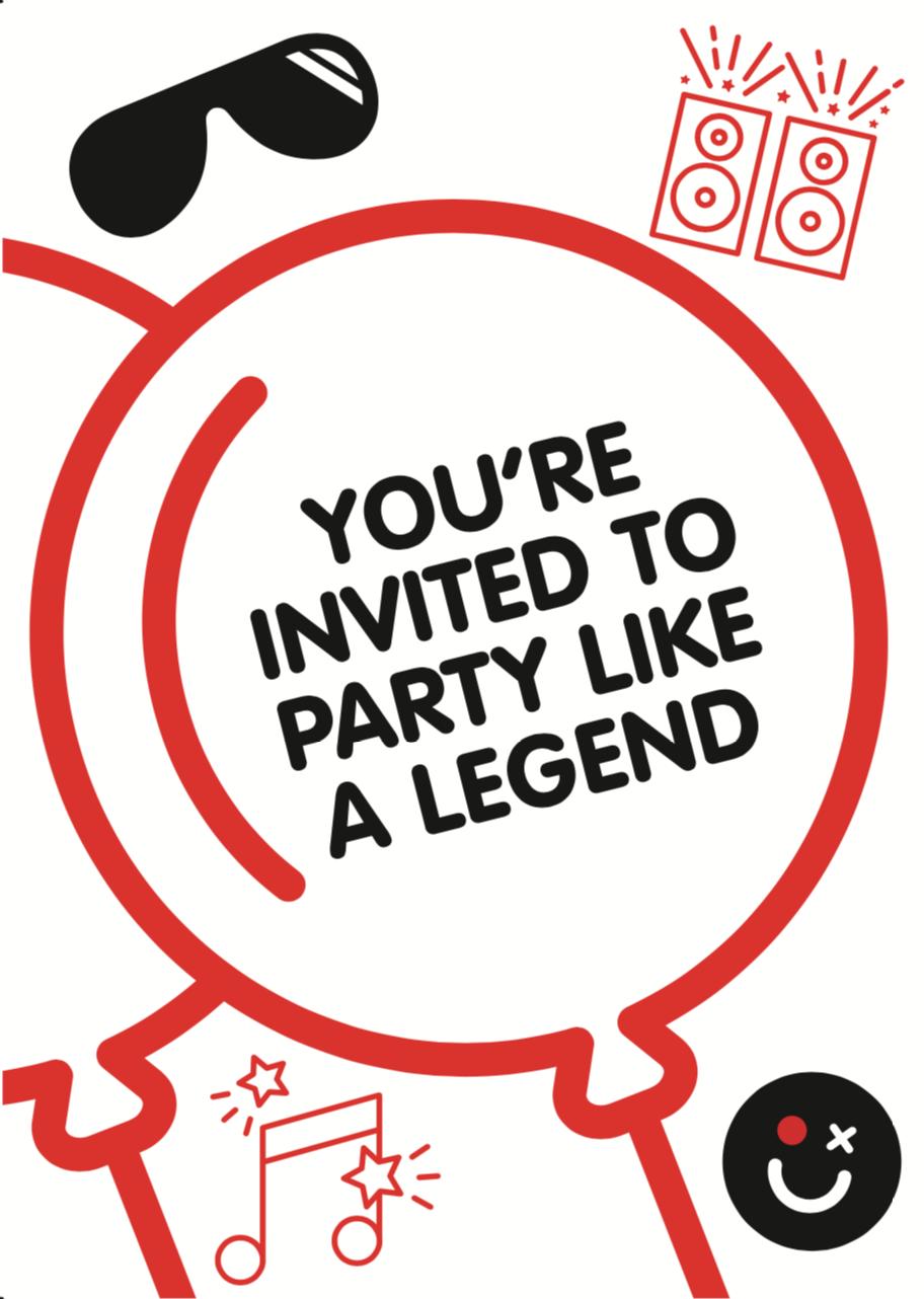 Party Invite (White)